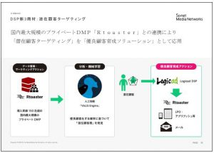 ソネット・メディア・ネットワークスDSP新3商材:潜在顧客ターゲティング