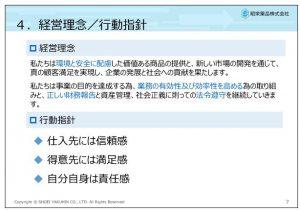 昭栄薬品経営理念・行動指針