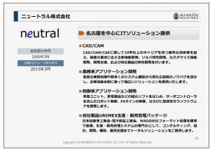 豆蔵ホールディングスニュートラル株式会社