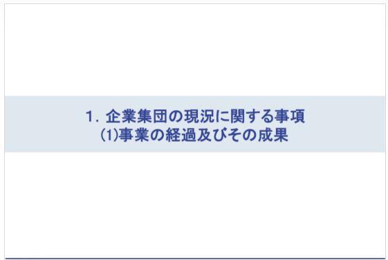アジュバンコスメジャパン企業集団の現況に関する事項