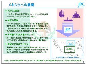 日本海洋メキシコへの展開