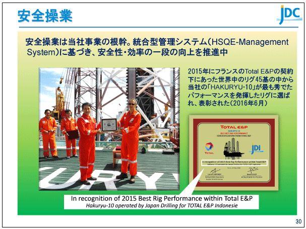 日本海洋掘削安全操業